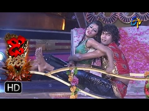 Rahul and Dharsini Performance | Dhee Jodi | 29th March 2017 | ETV Telugu