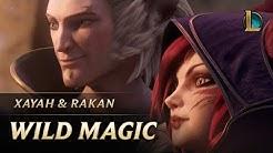Xayah and Rakan: Wild Magic   New Champion Teaser - League of Legends