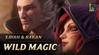 Xayah und Rakan: Wilde Magie | Neuer Champion Teaser - League of Legends