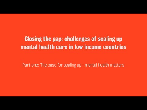Closing The Gap Challenges Of Scaling Up Mental Health Care In Low