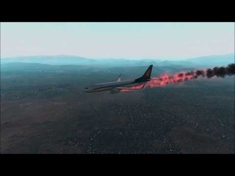 JET AIRWAYS 737 Engine Fire Crash Landing at Muscat
