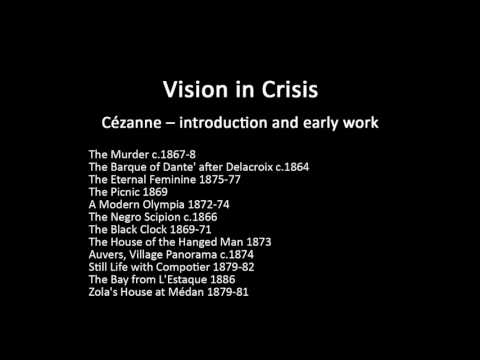 A history of modern art in 73 lectures: lecture 11 (Cezanne)