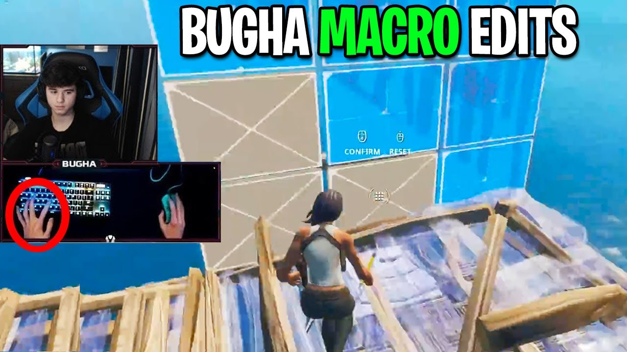 Bugha Editing so FAST It Requires 0.25 Speed To See His Edits... (Fortnite Season 3)