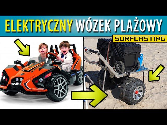 SURF ➤ elektryczny wózek plażowy :)
