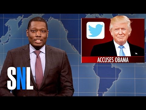 Weekend Update on Donald Trump's Wiretapping Accusation - SNL