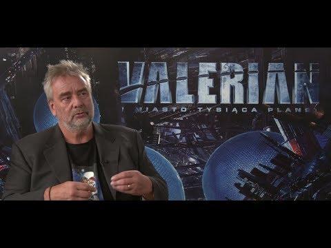 Valérian et la Cité des mille planètes : Interview exclusif Luc Besson