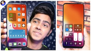 Get Iphone 12 Looks on Any Android Device | Android ko banao SASTA IPHONE😂 | Install OS14 On Android screenshot 5