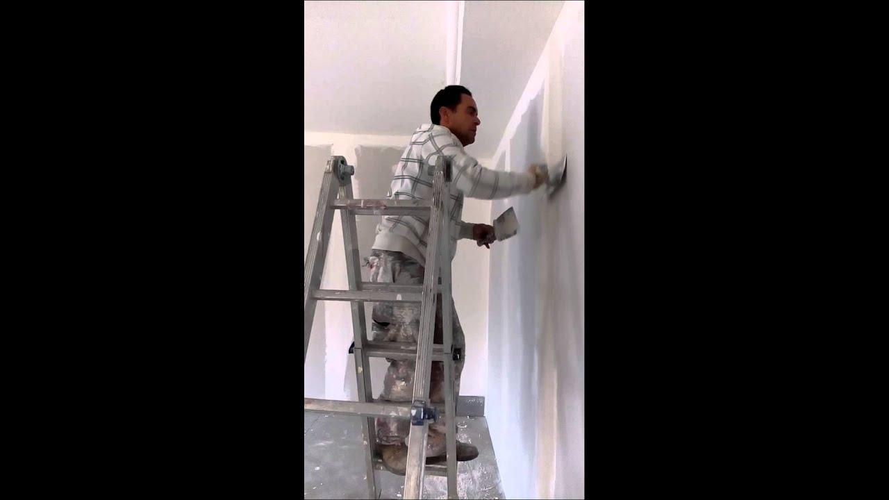 Verniciatura stuccatura velatura pareti in cartongesso   veletta ...
