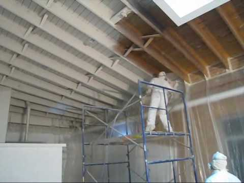 940 pitner (spraying ceiling primer) 2.22.2010.wmv - YouTube