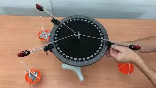 Aktiviti 1.7 Kit Daya Vektor | Vector Force Table Kit | forces in equilibrium |