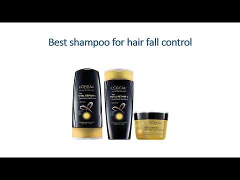 Best shampoo for hair fall control
