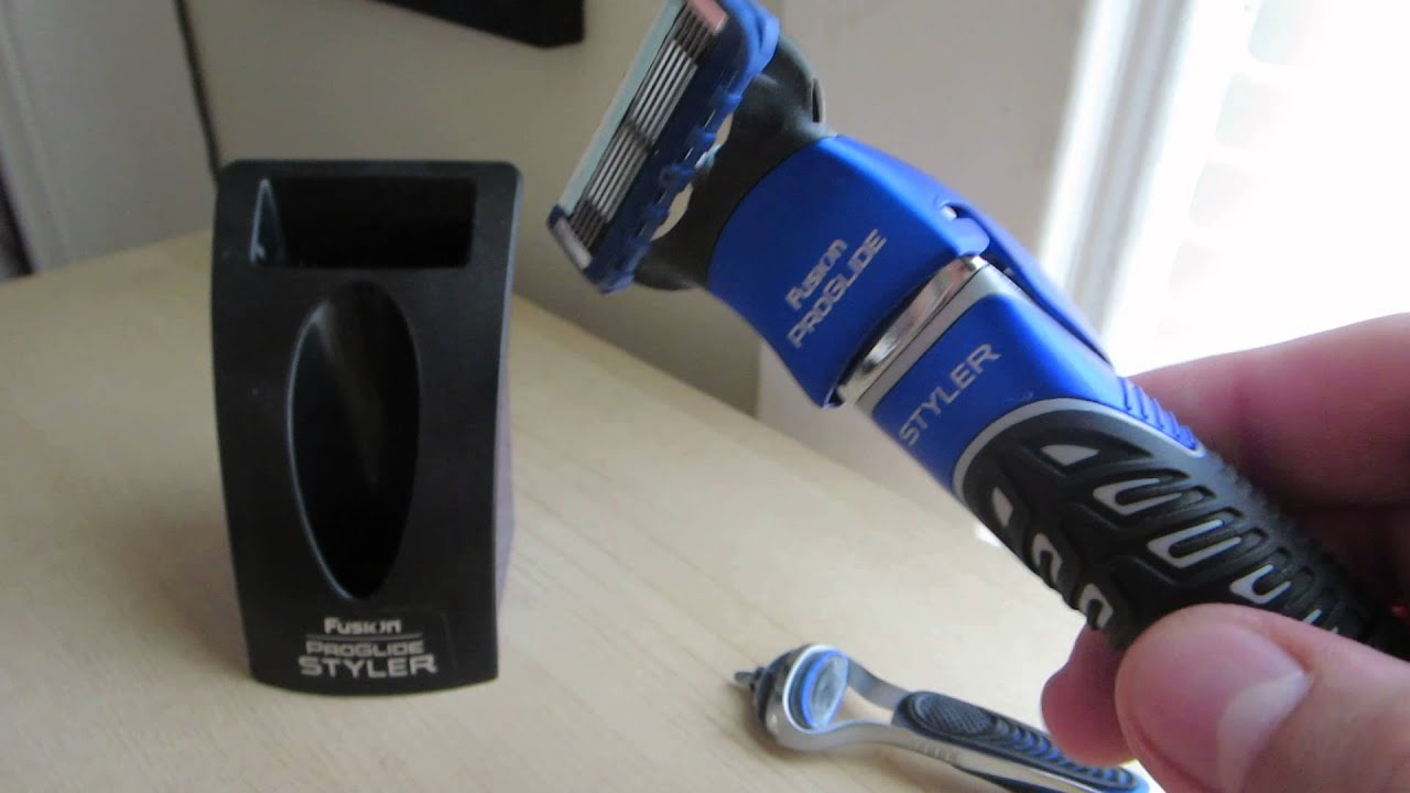 Rask Gillette Fusion Proglide Styler Review - YouTube FY-94
