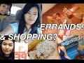 ERRANDS    SHOPPING  February 13  2015 Vlog     makeupbykarlamisa