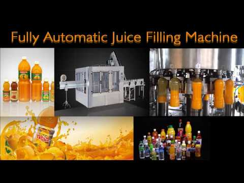 Fully Automatic Synthetic Juice Filling Machine