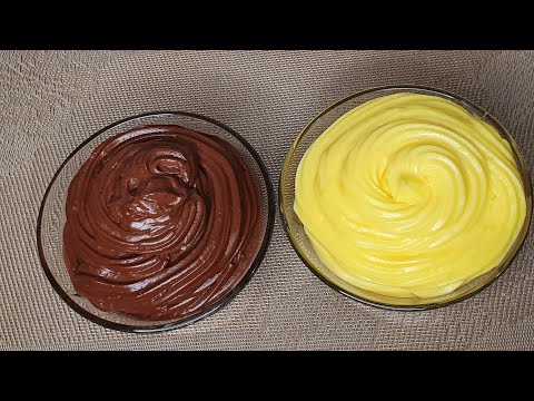 Cum să pregăteşti rapid crema de vanilie si crema de ciocolată /Maria Popescu