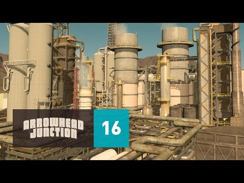 Cities Skylines: Arrowhead Junction - Part 16 - Arrowhead Oil Refinery