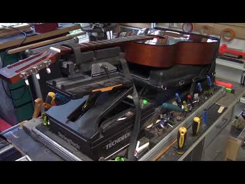 Martin Guitar Tenon in Mortise Neck Re-set