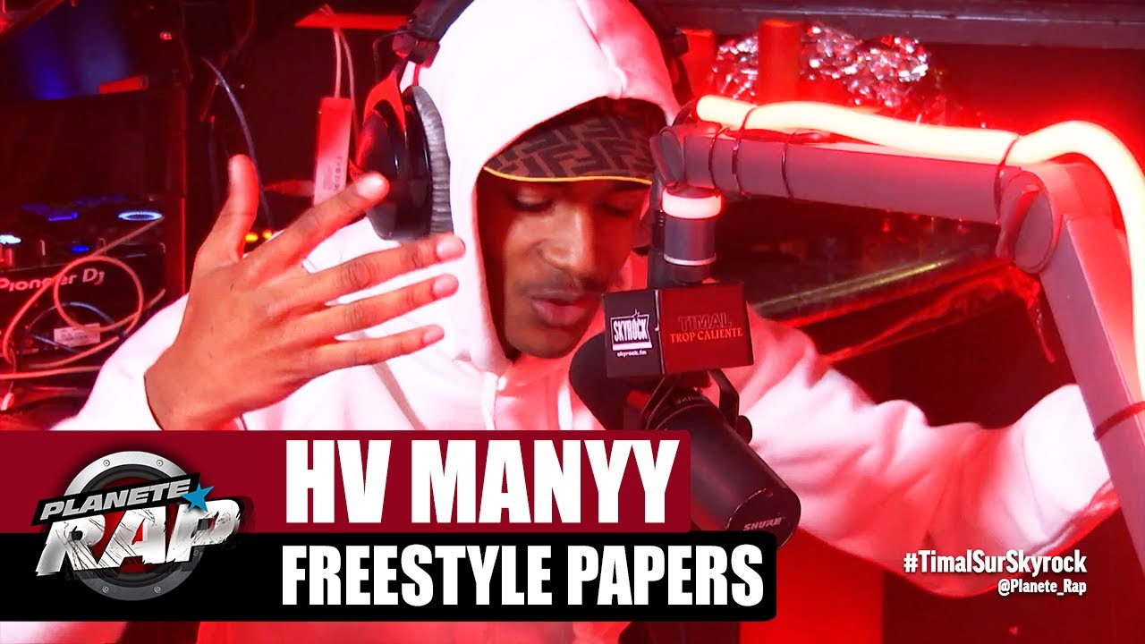 """Download [Exclu] HV Manyy """"Freestyle Papers"""" #PlanèteRap"""