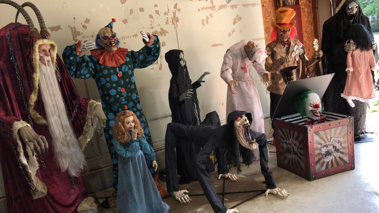 HUGE 2020 Spirit Halloween prop/animatronic collection (scary)