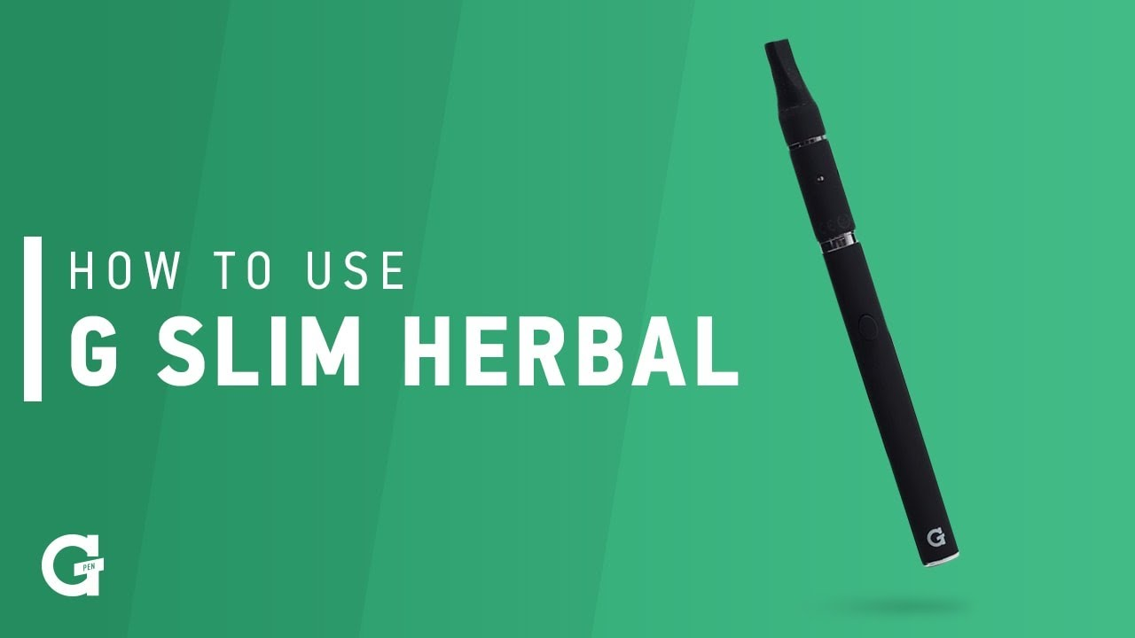 How to use your G Slim Herbal