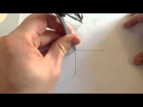 Construct 45 degree angle - Corbettmaths