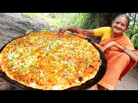 Indian Biggest Special Pizza by Grandma || Myna Street Food
