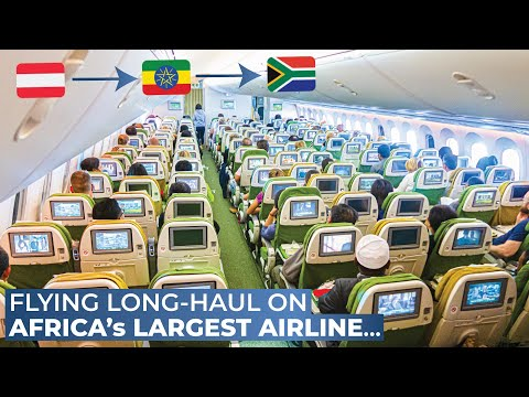 TRIPREPORT | Ethiopian Airlines (ECONOMY) | Vienna  -  Addis Ababa  -  Johannesburg | Boeing 787-8