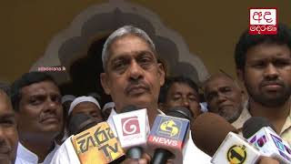 Sarath Fonseka condemns appointment of new Law & Order Minister