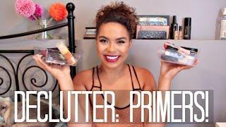 Makeup Declutter: Primers!   samantha jane