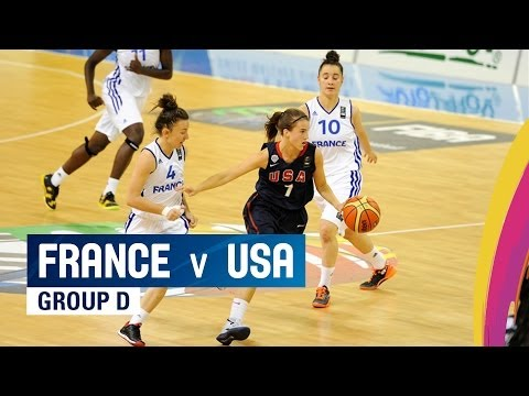 France v USA - Group D - 2014 FIBA U17 World Championship for women