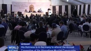 Khalifa Inaugurates Mansoor Mosque