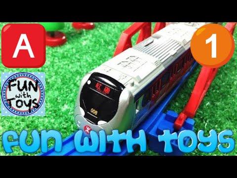 【xe lửa đồ chơi 】 Hồng Kông Tàu điện ngầm MTR giải nén 00467 vn