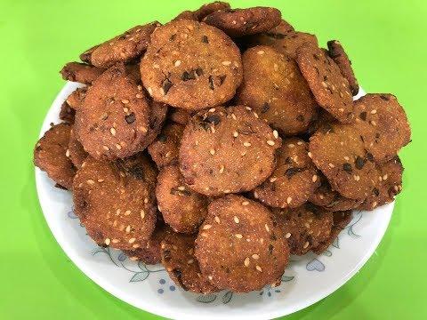 Bajra Na Vada I Traditional Gujarati farsan / snack
