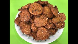 Bajra Na Vada I Traditional Gujarati farsan / snack । બાજરા ના વડા