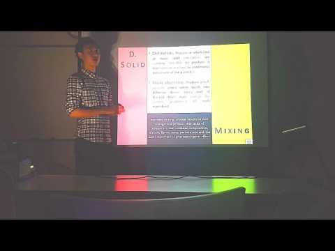 MIXING - Pharmaceutical Engineering Presentation
