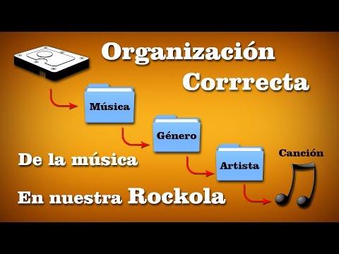 Organización correcta de la música de una rockola