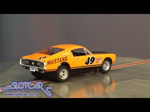 Carrera Slot Car Ford Mustang Fastback GT #49 27488 Slotcar