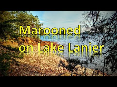 Marooned on Lake Lanier