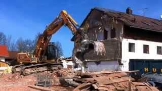 Heavy Excavator - Liebherr 926 - Abriss alter Bauernhof in Bayern