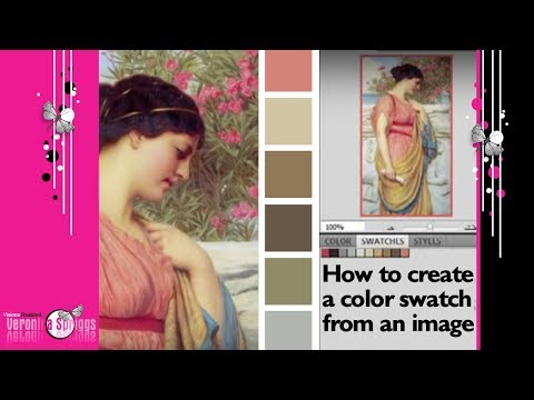 How To Make A Color Palette From An Image In Photoshop - Color Palette Tutorial