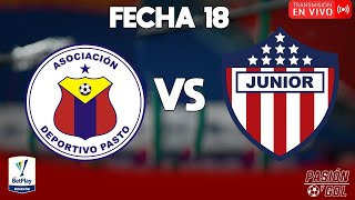 EN VIVO: PASTO JUNIOR| FECHA 18 LIGA BETPLAY 2021-I (AUDIO)