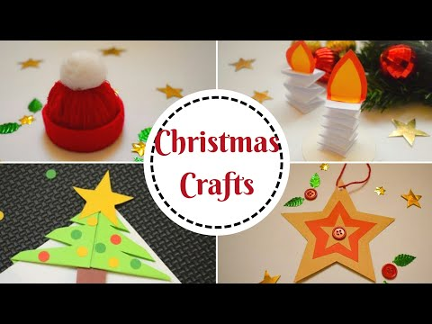 5-easy-christmas-crafts-for-kids-|-diy-christmas-decorations-at-home-for-kids-#christmascrafts