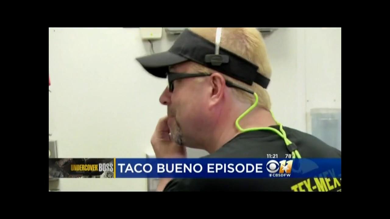 "Download CBS 11: Taco Bueno's CEO on ""Undercover Boss"""