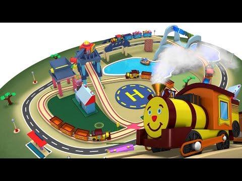 Thomas The train - Videos for Children - Train Cartoon - Thomas Cartoon - Toy Factory - Trains
