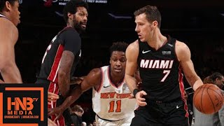 Miami Heat vs New York Knicks Full Game Highlights / April 6 / 2017-18 NBA Season