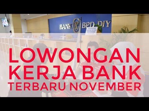 Lowongan Kerja Bank Terbaru November Loker Bank Jogja Youtube