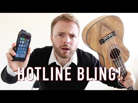 Hotline Bling  Drake Ukulele Tutorial