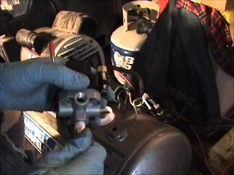 4 Wire Motor Diagram How To Replacement An Air Compressor Pressure Switch Youtube