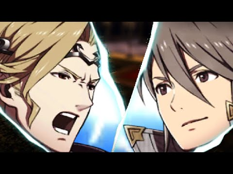 Fire Emblem Fates - Royals and Retainers Critical Hit Quotes Showcase
