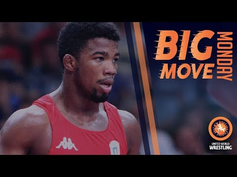 Big Move Monday -- Frank CHAMIZO (ITA) -- 2017 World C'ships